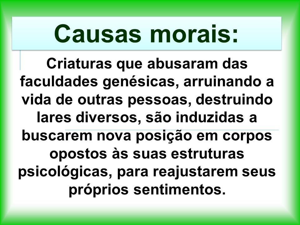 Causas morais: