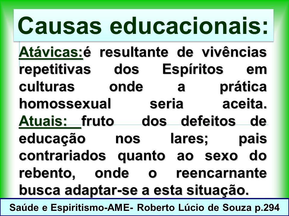 Saúde e Espiritismo-AME- Roberto Lúcio de Souza p.294