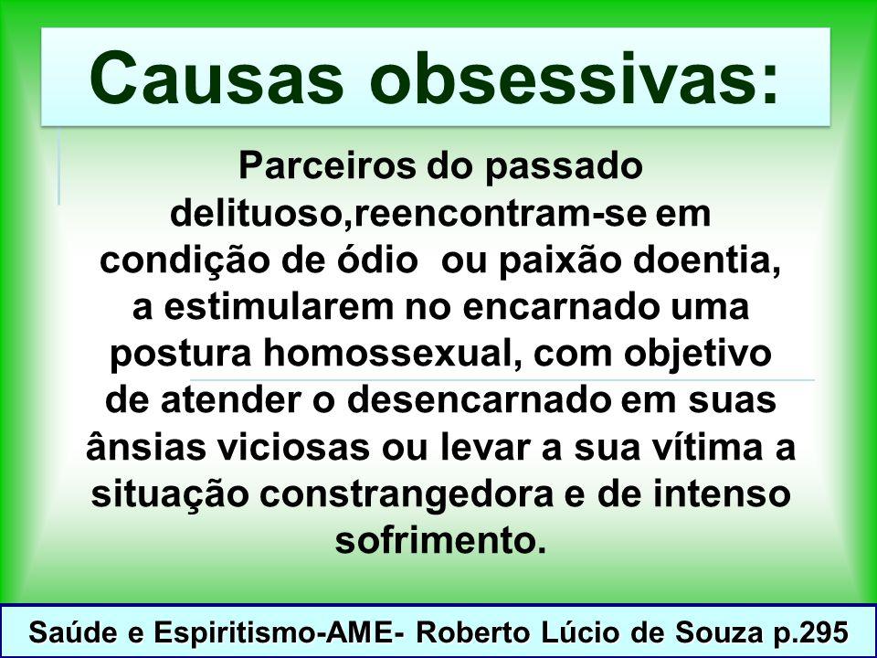 Saúde e Espiritismo-AME- Roberto Lúcio de Souza p.295