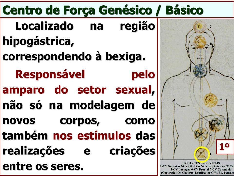 Centro de Força Genésico / Básico