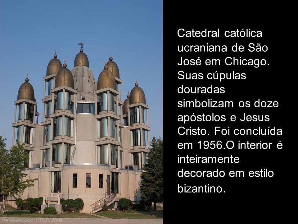Catedral católica ucraniana de São José em Chicago