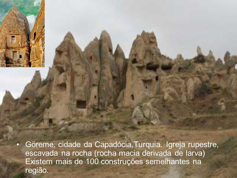 Göreme, cidade da Capadócia,Turquia