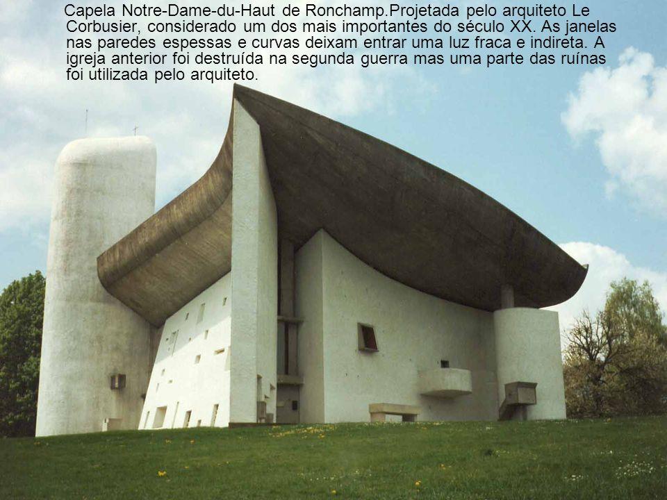 Capela Notre-Dame-du-Haut de Ronchamp