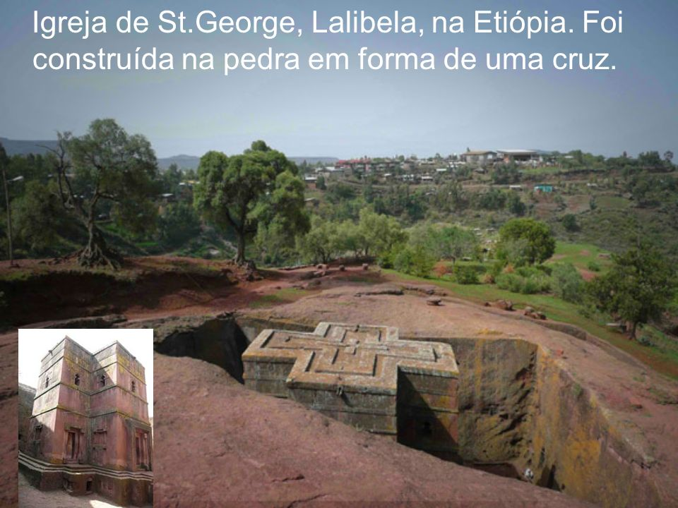 Igreja de St. George, Lalibela, na Etiópia