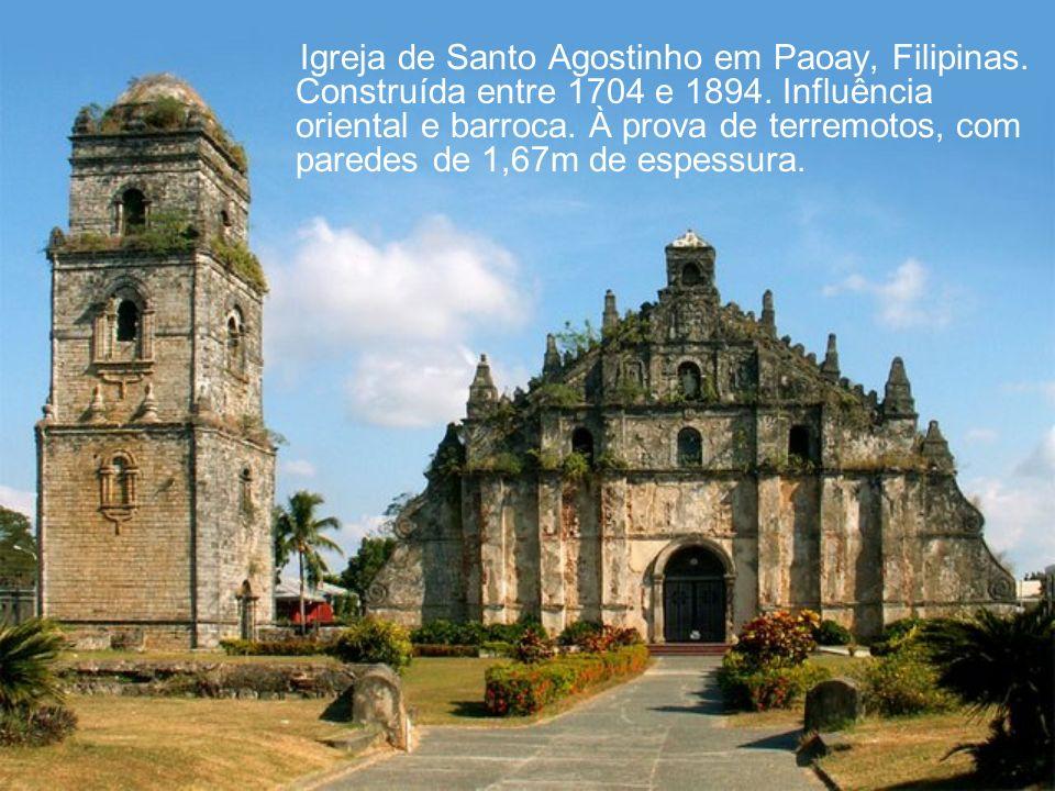 Igreja de Santo Agostinho em Paoay, Filipinas