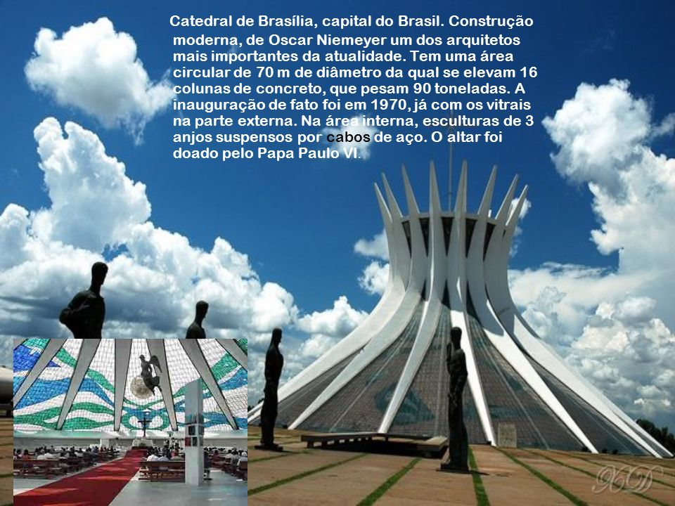 Catedral de Brasília, capital do Brasil