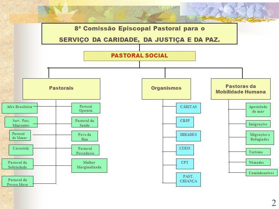 SERVIÇO DA CARIDADE, DA JUSTIÇA E DA PAZ.
