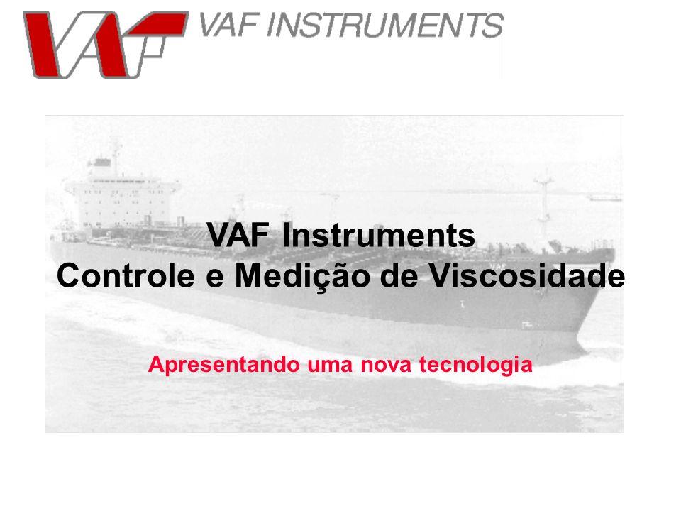 VAF Instruments Controle e Medição de Viscosidade