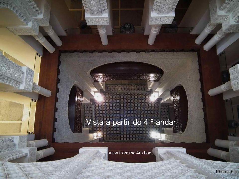 Vista a partir do 4 º andar