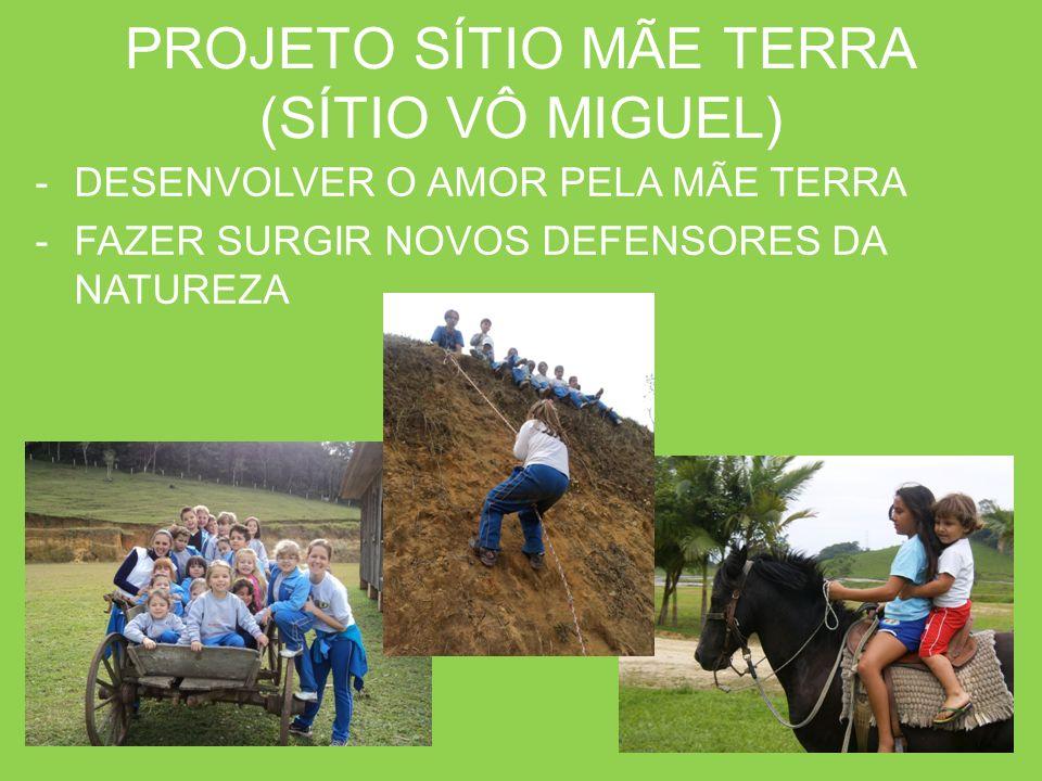 PROJETO SÍTIO MÃE TERRA (SÍTIO VÔ MIGUEL)