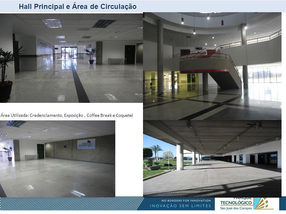 Hall Principal e Área de Circulação