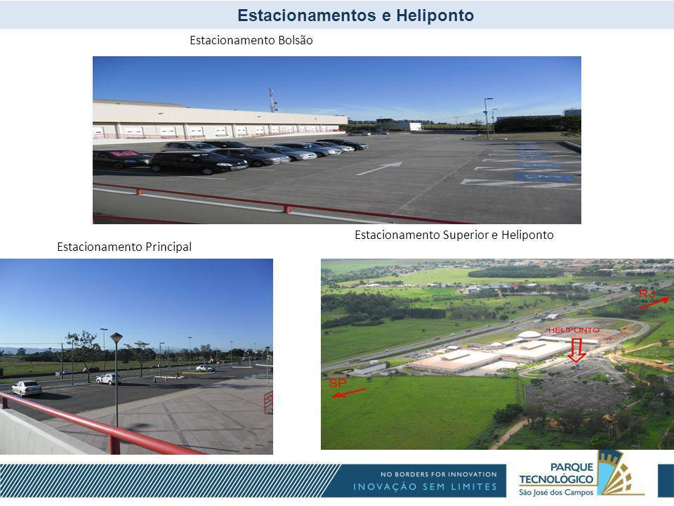 Estacionamentos e Heliponto