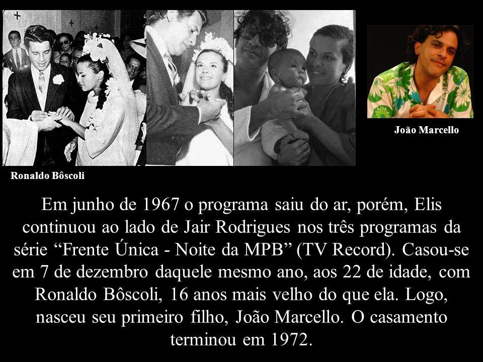 João Marcello Ronaldo Bôscoli.