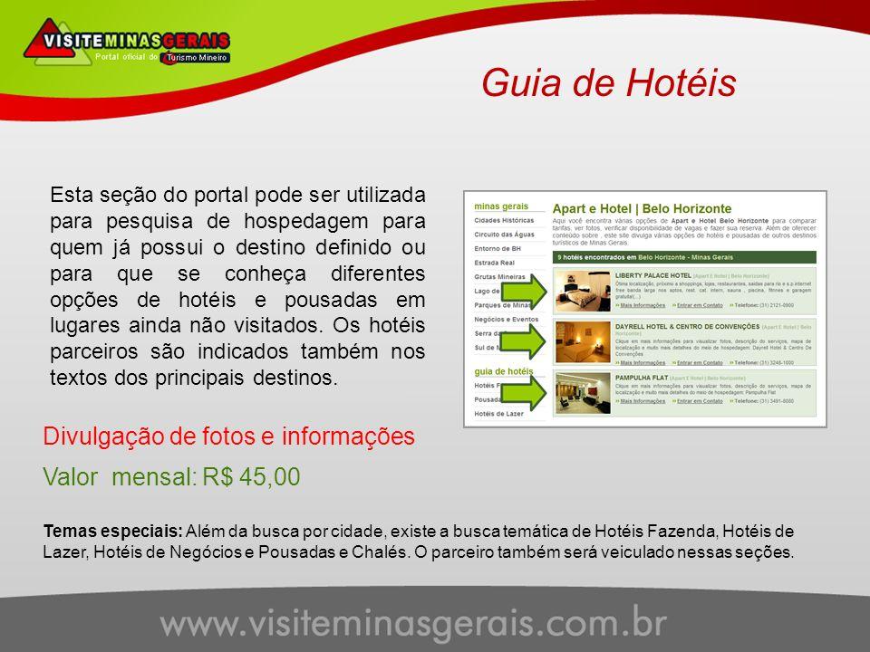 Guia de Hotéis Divulgação de fotos e informações