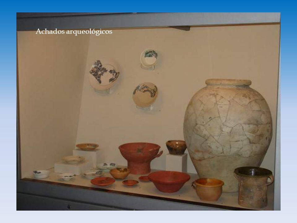 Achados arqueológicos
