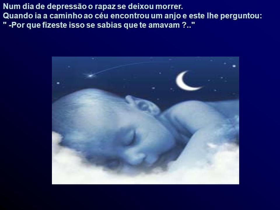 Num dia de depressão o rapaz se deixou morrer