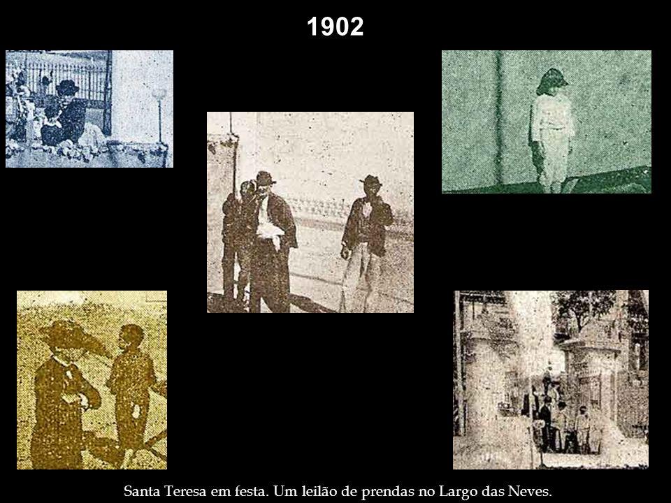 1902 1901 Membros da Irmandade de Nossa Senhora da Penha, na Penha.