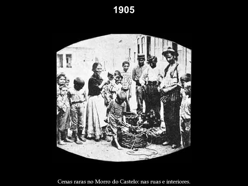 1904 1905. Antigo restaurante da boemia, na rua General Câmara, no Centro – Foto: Augusto Malta.