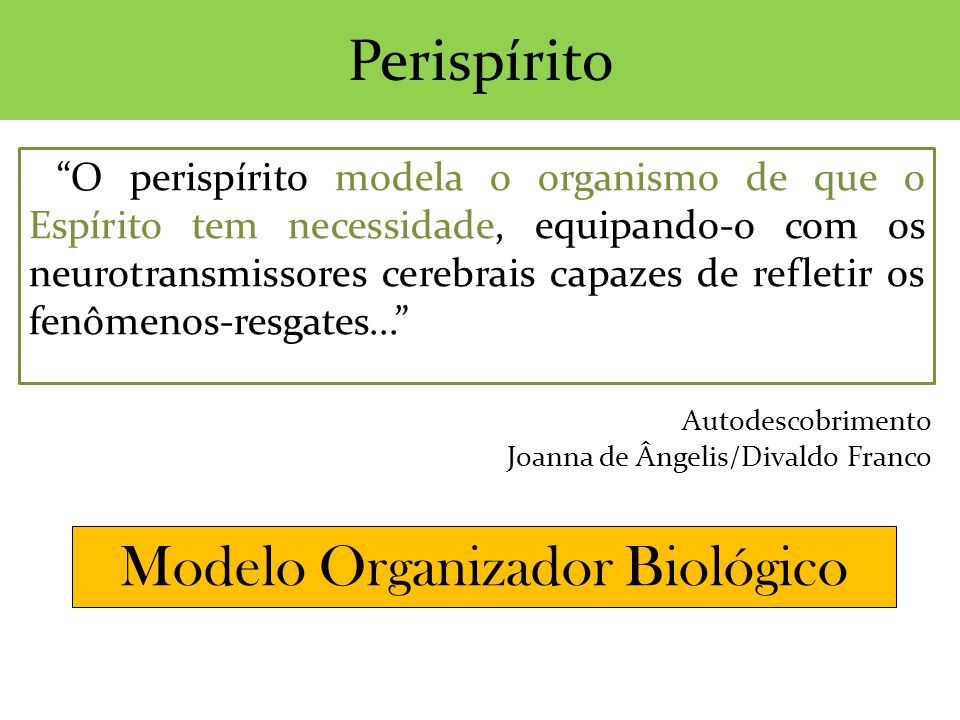 Modelo Organizador Biológico