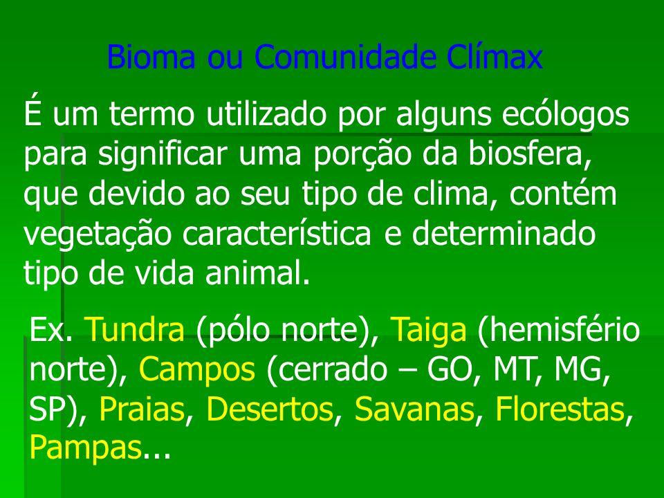 Bioma ou Comunidade Clímax