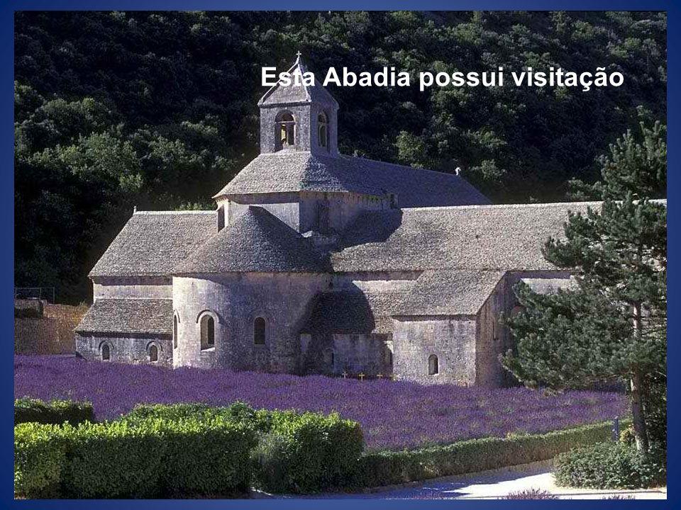 Esta Abadia possui visitação