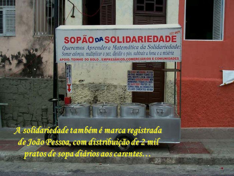 A solidariedade também é marca registrada