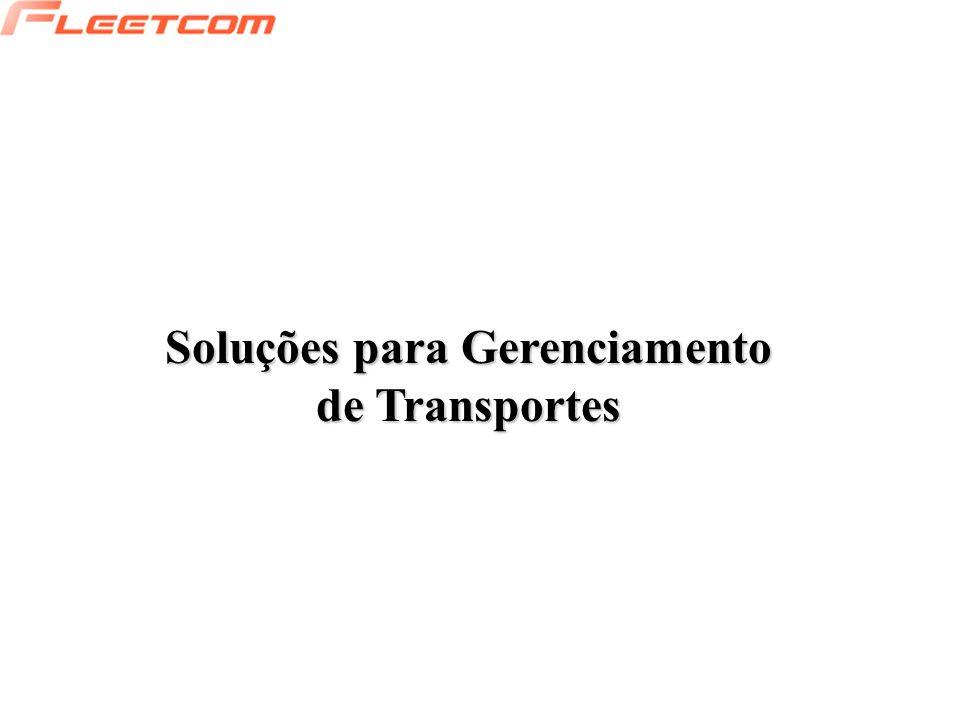 Soluções para Gerenciamento de Transportes