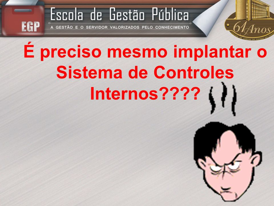 É preciso mesmo implantar o Sistema de Controles Internos