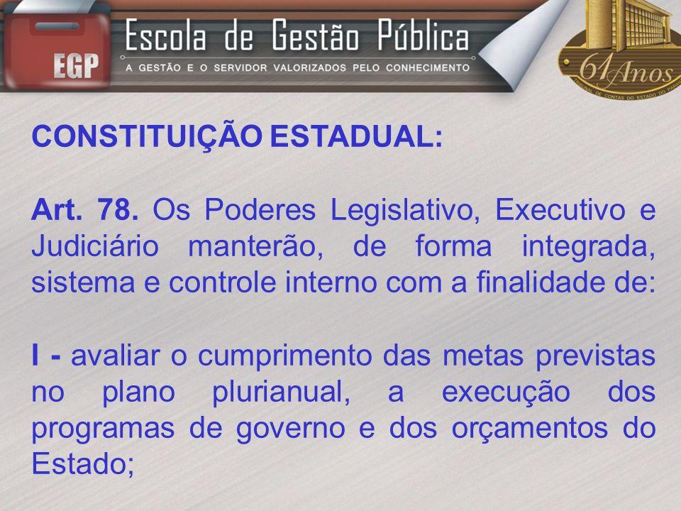 CONSTITUIÇÃO ESTADUAL: