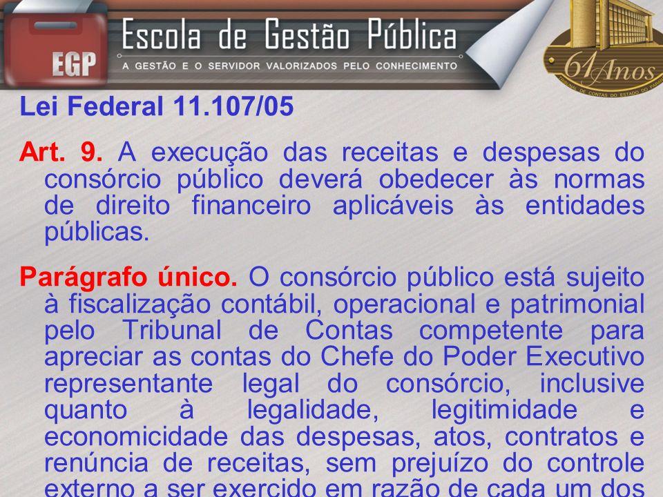 Lei Federal 11.107/05