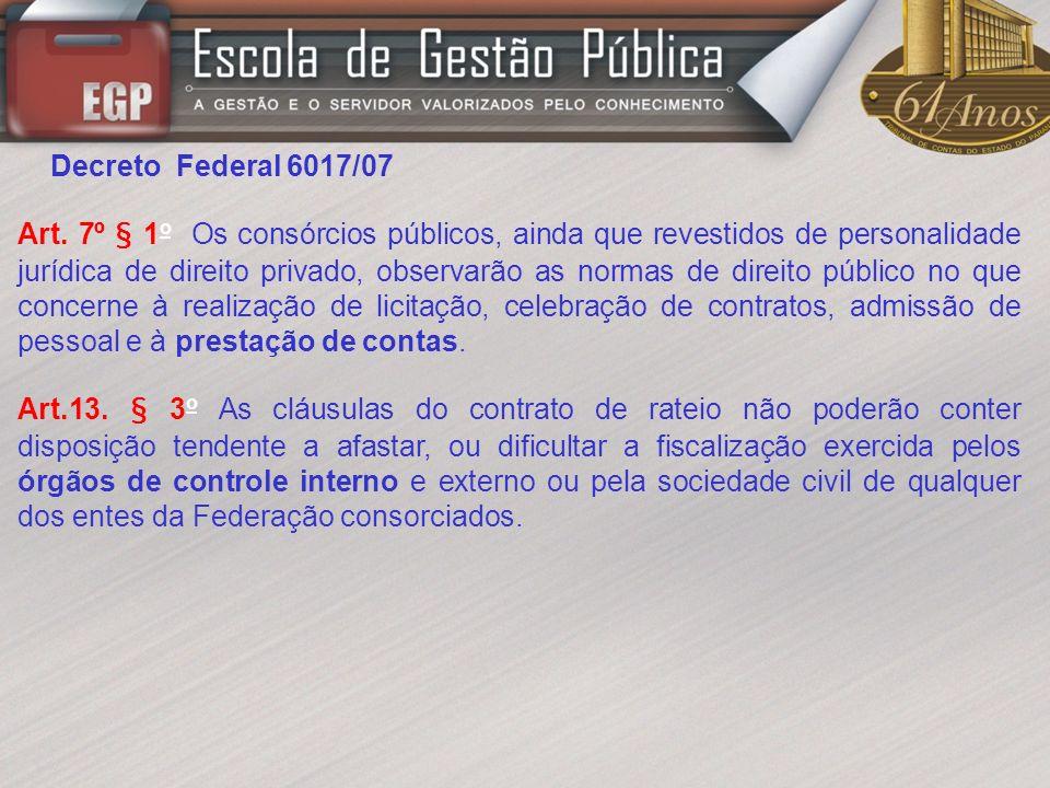 Decreto Federal 6017/07