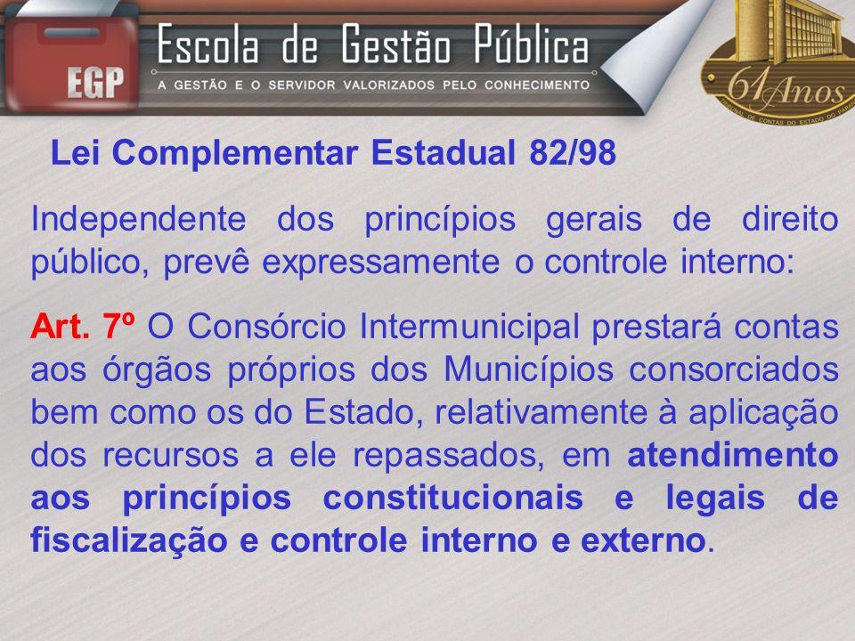 Lei Complementar Estadual 82/98