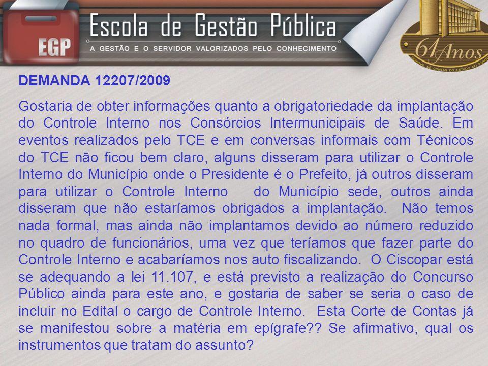 DEMANDA 12207/2009