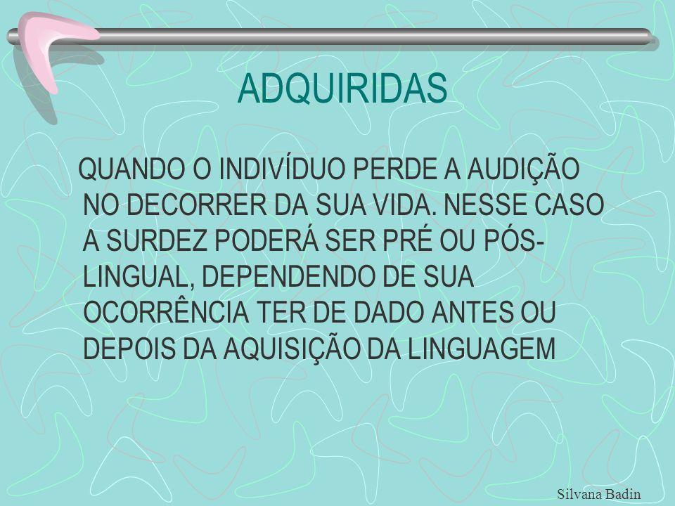 ADQUIRIDAS