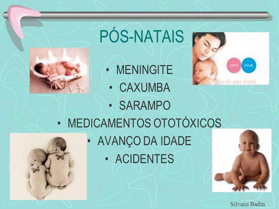 MEDICAMENTOS OTOTÓXICOS