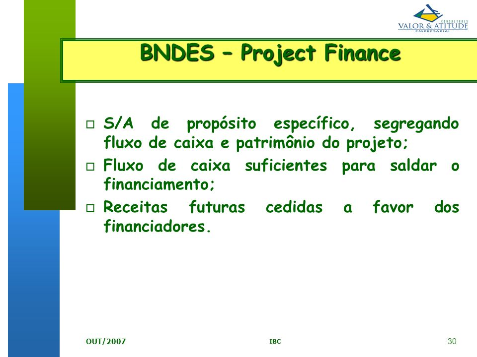 BNDES – Project Finance