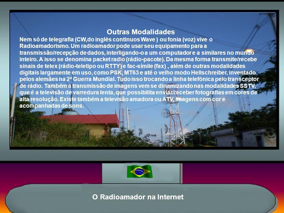 O Radioamador na Internet