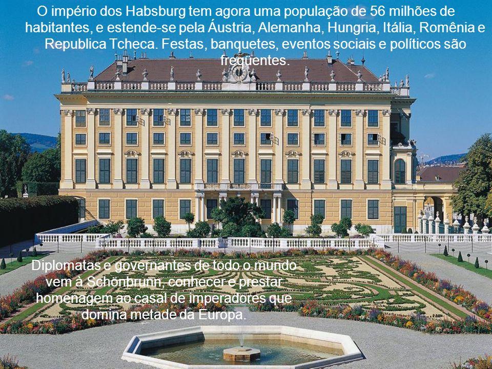 O império dos Habsburg tem agora uma população de 56 milhões de habitantes, e estende-se pela Áustria, Alemanha, Hungria, Itália, Romênia e Republica Tcheca. Festas, banquetes, eventos sociais e políticos são freqüentes.