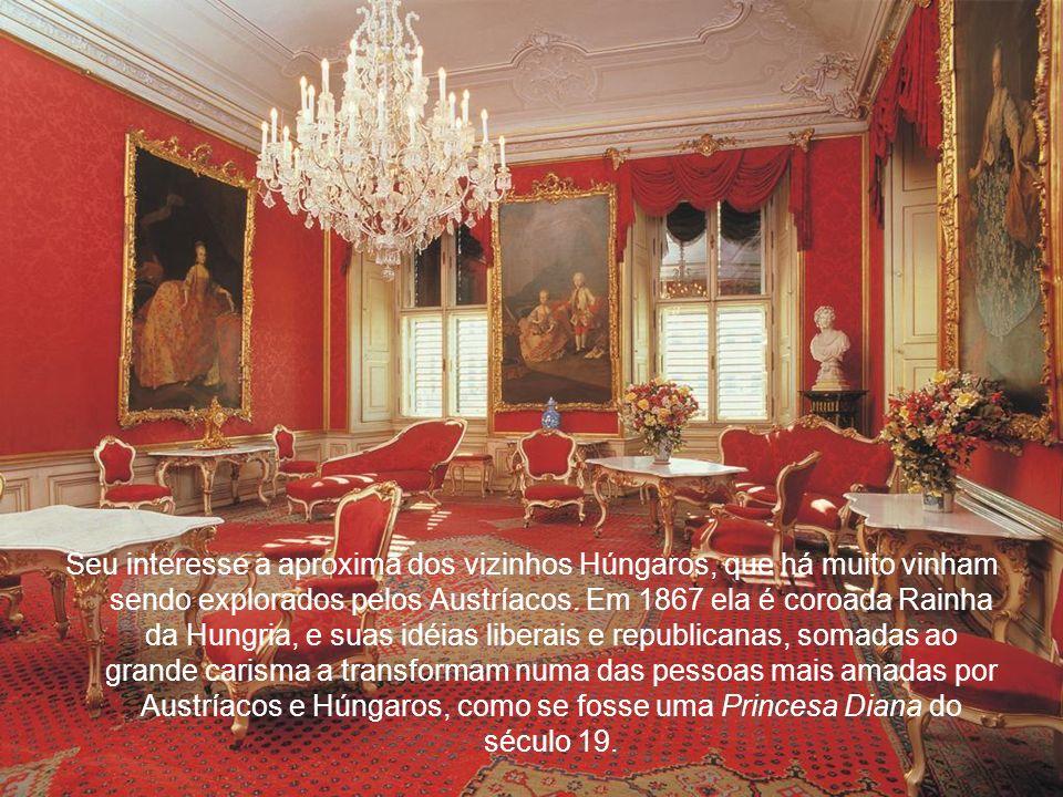 Seu interesse a aproxima dos vizinhos Húngaros, que há muito vinham sendo explorados pelos Austríacos.