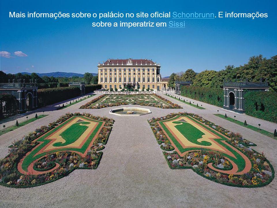 Mais informações sobre o palácio no site oficial Schonbrunn