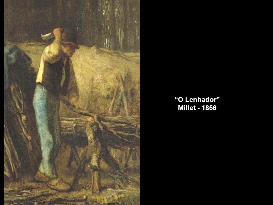 O Lenhador Millet - 1856