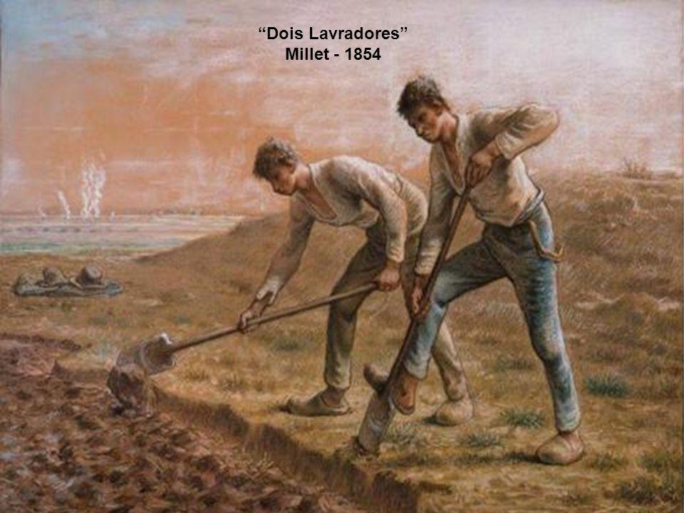 Dois Lavradores Millet - 1854