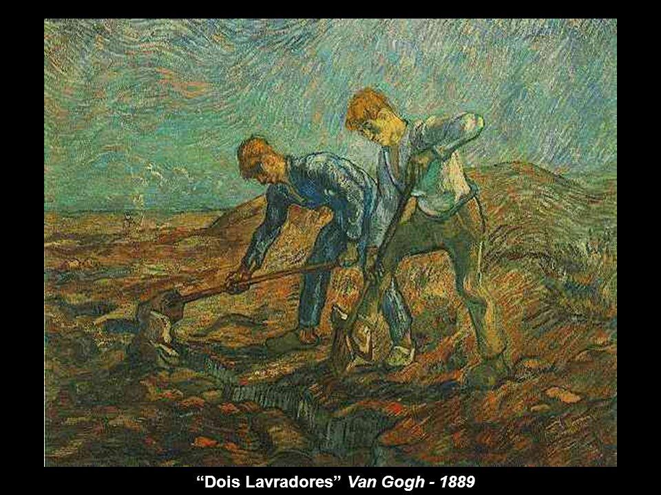 Dois Lavradores Van Gogh - 1889