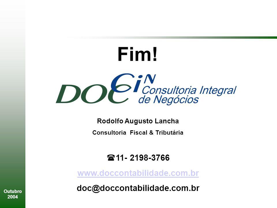 Rodolfo Augusto Lancha Consultoria Fiscal & Tributária