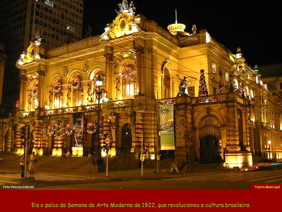 Foto Vinicius Gabriel Teatro Municipal.