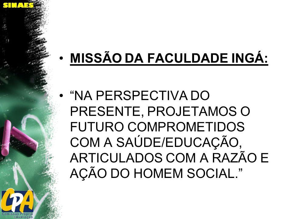 MISSÃO DA FACULDADE INGÁ: