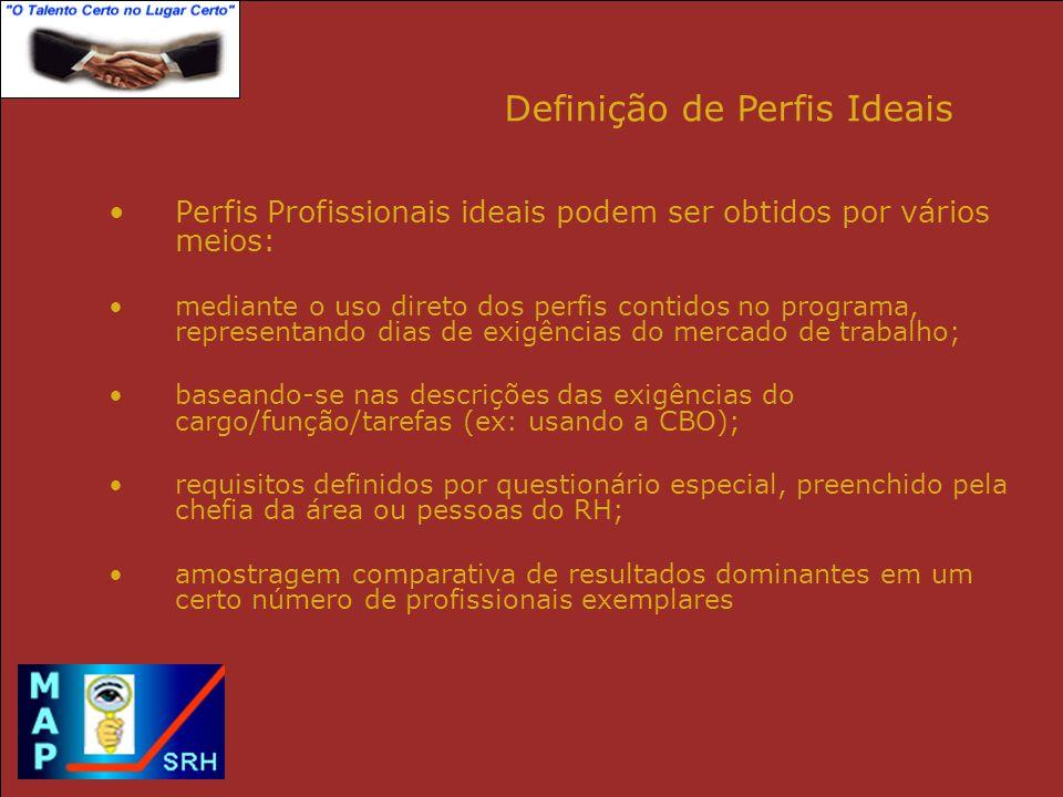 Definição de Perfis Ideais