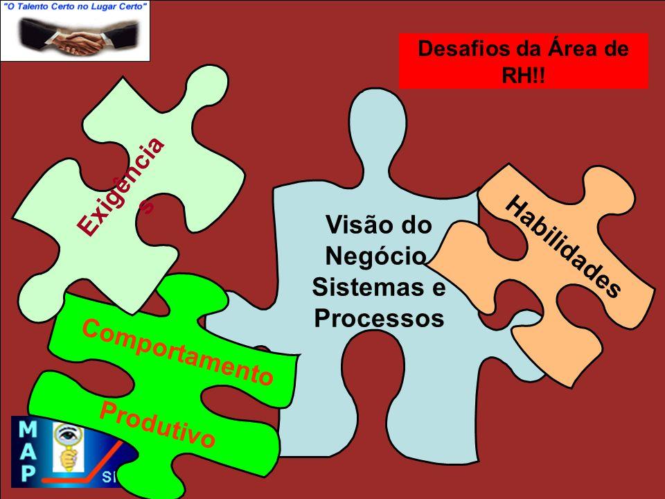 Visão do Negócio, Sistemas e Processos