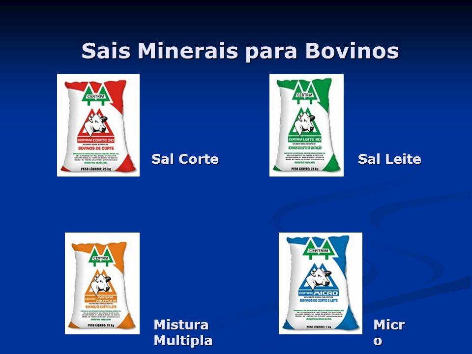Sais Minerais para Bovinos