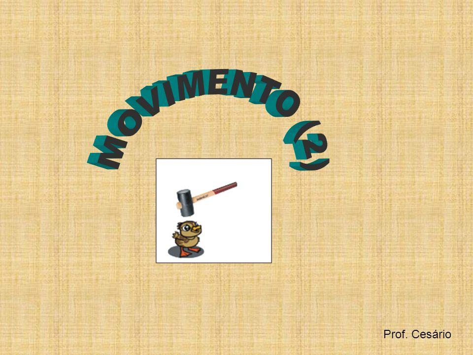 MOVIMENTO (2) Prof. Cesário